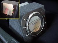 Модель установленной аппаратуры: Rockford Fosgate P1 in box.  Mazda 6. Что ставилось: Установка сабвуфера.